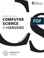 Unofficial Guide to CS at Harvard