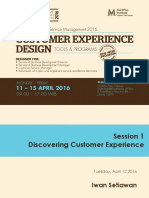 Discovering Customer Experience & Mapping Interactions