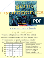 Organic Hydroponic Greenhouse Crop Production; by Mary Peet