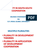 Plurality in South-south Cooperation