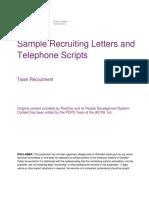 samplerecruitingletterstelephonescripts.docx