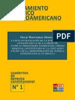 Cuadernos de Derecho Constitucional No. 1