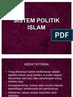 Sistem Politik Islam