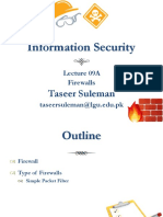 Lecture 09A Firewall