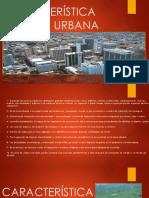 Característica de Área Urbana
