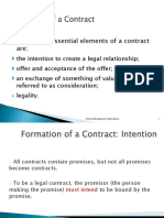 Chapter 2 -Formation of Contract Revised F18