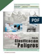 Guía de Clasificación de Peligros Julio 2015-Sgsst
