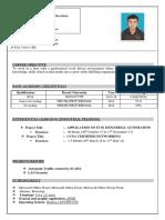 Resume Sudip Kumar Maity