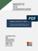 Cultura Como Promoción de Los Derechos Humanos y Paz Social