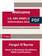 ISO 45001-2018 Briefing Presentation-NSAI