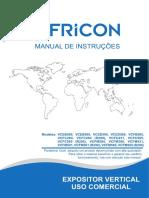 Manual de frezers Fricon
