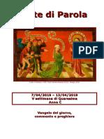 Sete di Parola - V Settimana Quaresima - C.doc