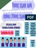 Stroke, gejala dan tanda