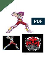 Seiya y Deathpool