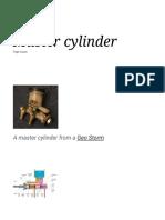 Master Cylinder - Wikipedia