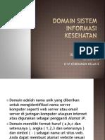 DOMAIN SISTEM INFORMASI KESEHATAN.pptx