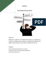 4 - PROG. DE METAS