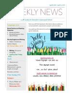weekly newsletter-apr 8-apr 12