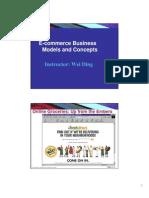 E-Commerce Models 2 1