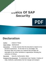 Snehal Thesia SAP Notes