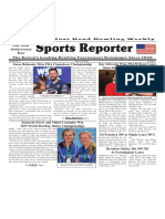April 3 - 9, 2019  Sports Reporter