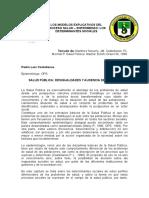 Los Modelos Explicativos del Proceso Salud Enfermedad Los determinates sociales -Pedro Castellanos.doc