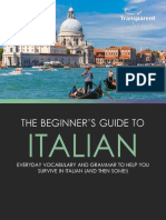 Beginners Guide to Italian