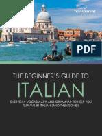Beginners Guide to Italian