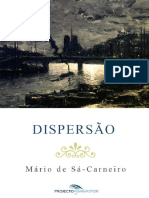 Dispersão - Mario de Sa Carneiro