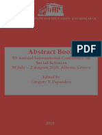 Abstract Book ATINER Greece 2018
