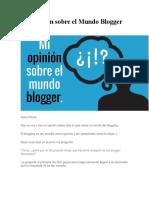 Mi Opinión sobre el Mundo Blogger.docx
