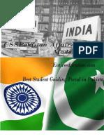 CSS Pakistan Affairs