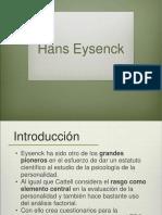 Hans Eysenck Personalidad