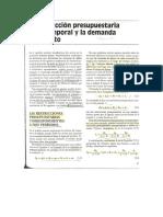 Cap. 5 La Restriccion Presupuestaria Intertemporal y La Demanda de Credito. Parte 1.docx