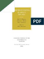 (Collected Writings of the Orpheus Institute) Rob C. Wegman, Johannes Menke, Peter Schubert, Dirk Moelants - Improvising Early Music-Leuven University Press (2015).pdf