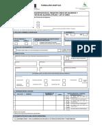 Formato DIQPF 024