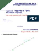 Lezione 06 Progetto Di Ponti_Carichi Mobili SAP