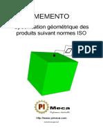 PIMECA - Memento Cotation Iso Gps (8015 - 1101 - 5458 - 5459 - 2692 - 14405 - 10579)