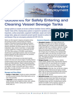 Guideline for Safely Entering and Cleaning Tanks