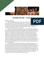 maori handout