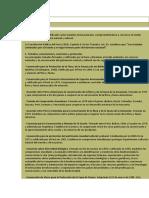 Los Tratados y Convenios Internacionales