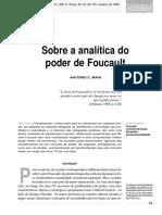 Antôni C. Maia_Sobre a analítica do poder de Foucault.pdf