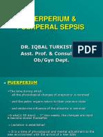 12. Puerperium & Puerperal Sepsis