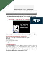 Dictaduras y Democracias en Perú sXX.docx