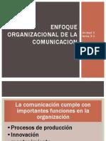 Enfoque Organizacional de La Comunicacion