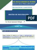 5 Diseños de Investigación