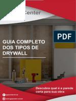 Guia Completo Dos Tipos de Drywall