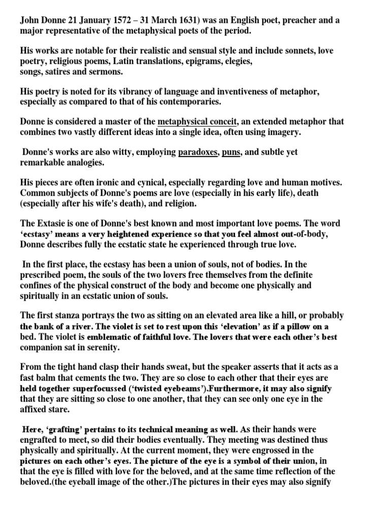 John Donne Love Poems 5