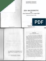 Zen Macrobiotic Georges Ohsawa Nyoiti Sakurazawa 99