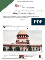 Header_ 2018_ a Year of Landmark Judgments - India News